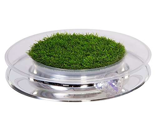 Nature Track, Cat Ball Toy With Faux Grass by Petstages