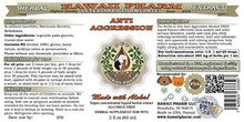 Anti-Aggression, Pet Herbal Supplement by Hawaii Pharm