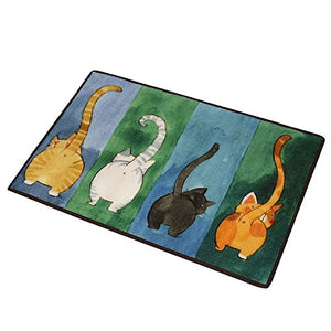 Cute Cat Butt Doormat, 15.7*23.6 inch