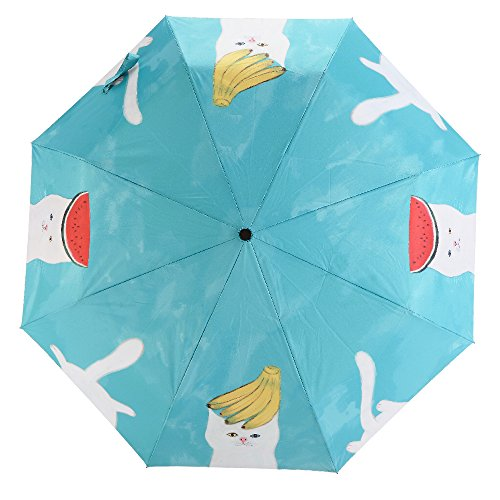 Cat& Fruit Themed Lightweight Umbrella