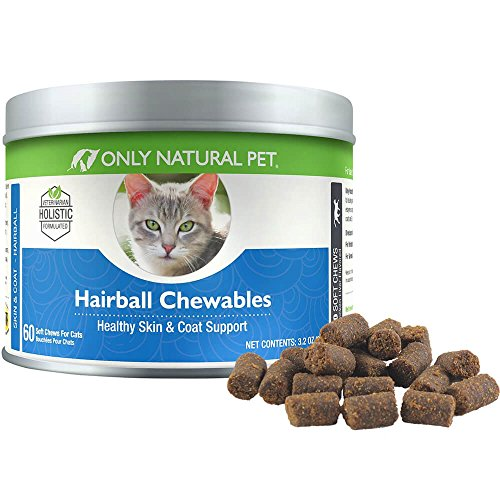 Hairball Chewables, Healthy Skin and Coat Support, 3.2 oz