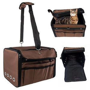 Cat Crate Carrier Made of Waterproof Cloth