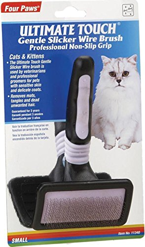 Ultimate Touch Gentle Slicker Wire Brush for Cats & Kittens