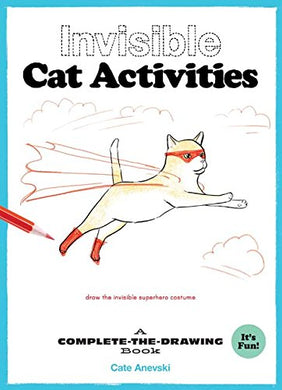 Invisible Cat Activities: Drawing Book, Chronicle Books