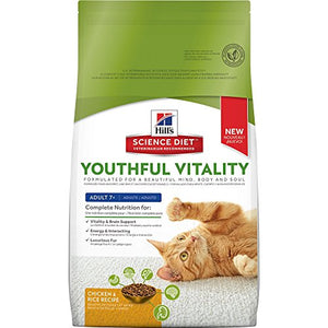 Youthful Vitality Cat Food by Hill's Science Diet, 6 lb bag