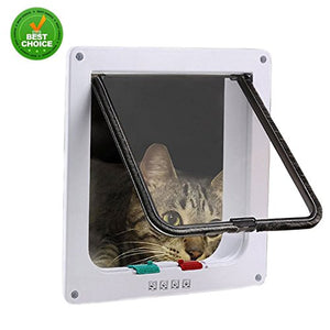 Cat Door Flap ABS Polymer Plastic