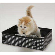 Necoichi Portable Cat Litter Box with Waterproof Liner