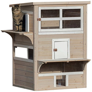 Cat's Home 4 Small Doors