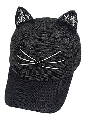 Women's Sport Cap Baseball Cat Ear Pattern by Coolwife
