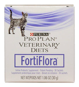 Purina Fortiflora Feline Nutritional Supplement Box, 30gm