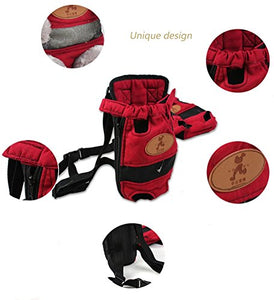 Red FrontPack Backpack for Cats and Dogs