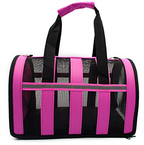 Single Shoulder Strap Soft Travel Tote Bag for Cats