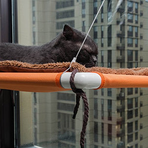 Cat Window Perch with Removable Fleece Mat