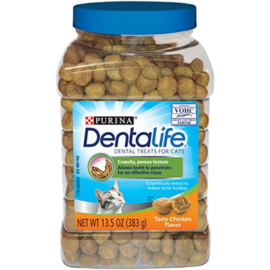 Purina DentaLife Tasty Chicken Flavor cat Dental Treats