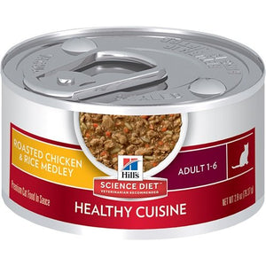 Hill's Science Diet Roasted Chicken & Rice Medley Canned Cat Food