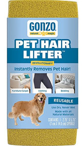 Gonzo Pet Hair Lifter, Instantly Removes Pet Hair