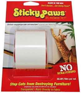 Pet Sticky Paws on a Roll Cat Deterrent