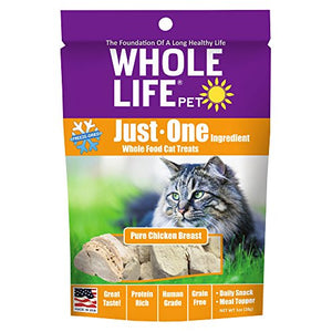 Pure Chicken Breast for Cats by Whole Life Pet, Protein Rich