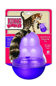 KONG Cat Wobbler, Slows Rapid Eating