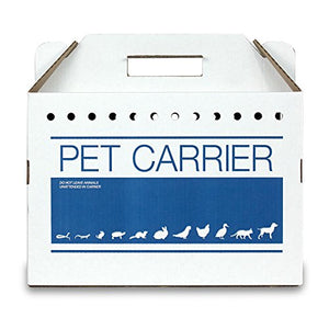 Recycled Cardboard Pet Carrier