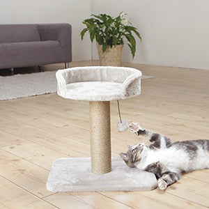 Trixie Light Gray Scratching Post