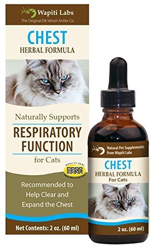 Chest Herbal Formula for Respiratory Function by Wapiti Labs
