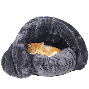 Cave Bed with Removable Cushion