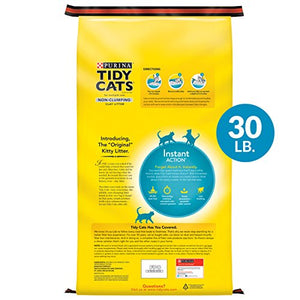 Purina Tidy Cats Non-Clumping Litter, Instant Action