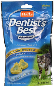 Hartz Dentist's Best Chicken Flavored with Dentashield for Cleaner Teeth