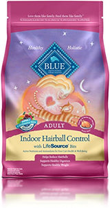 Indoor Hairball Control Chicken & Brown Rice Cat Food, 7-Lb