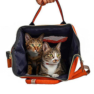 Pet Carrier Backpack for Cats and Puppies