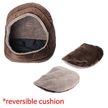 Comfort Plush Brown Cat Cave