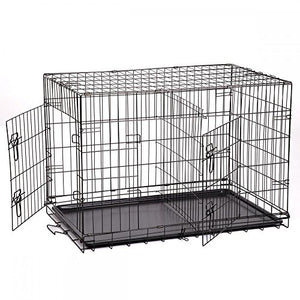 "48"" Pet Kennel Playpen with a ABS Plastic Tray"