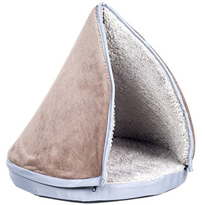 Cozy Cat Bed with Teepee Top