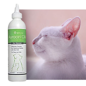 Vet One Aurocin CM Ear Cleanser with Aloe
