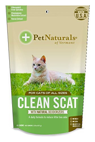 Clean Scat, Digestive Support and Odor Control for Cats