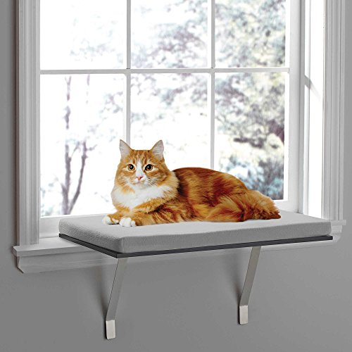 Deluxe Window Seat Perch for Cats