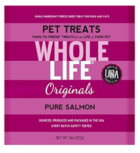 Dried Salmon Value Pack for Cats by Whole Life Pet, Every Batch Safety Tested
