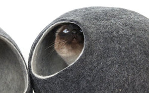 Sheep Wool Durable Cat Cave