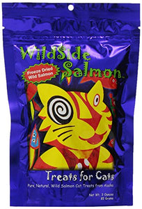 WildSide Salmon Cat Treats, Single Source Protein
