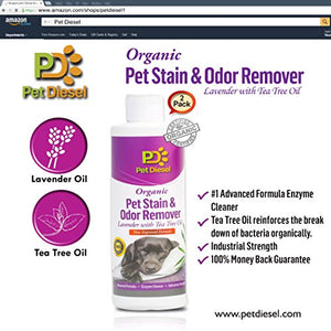Organic Pet Stain & Odor Spray Remover