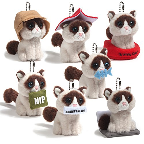Eight Different Styles Grumpy Cat Plush Series