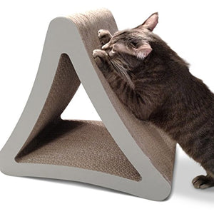 Large Size 3-Sided Vertical Cat Scratching Post