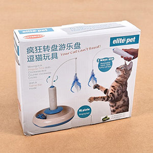 Electronic Feather Teasing Cat Toy