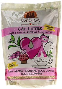 All-natural Cat litter Made with Hinoki Wood & Green Tea by Weruva