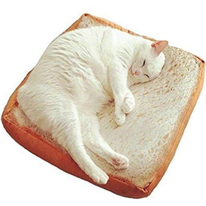 Bread Toast Shaped Cushion Pet Bed