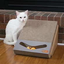Interactive Ramp and Track Cardboard Scratcher