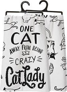 Lightweight, Soft and Absorbent Kitchen Towel for Cat Lovers