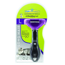 Long Hair deshedding Tool for Cats by FURminator