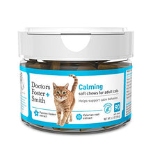Calming Soft Chews for Adult Cats with Valerian Root Extract